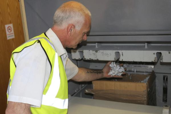 Document Shredding - Confidential Waste Disposal Image